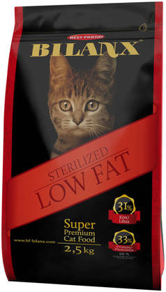 Best Friend Bilanx Sterilized Lowfat 2,5 kg kissan täysravinto - Kissan ruokinta - 2NDC-80100 - 1