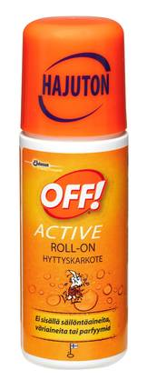 OFF! Active Roll-on 60 ml - Tuholaistorjunta - 6414400021390 - 1