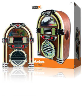 Retro jukebox AM/FM radio ja CD-soitin - Radiot - BXL-JB10 - 1
