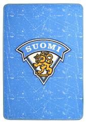 Matta Finska lejonet blå -  - 6430035688807 - 1