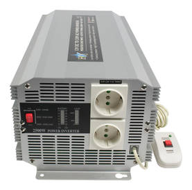 Invertteri 12 - 230 V 2500 W - Invertterit - HQ-INV2500-12 - 2