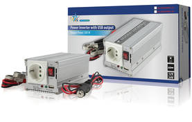 Invertteri 12 - 230 V 300 W USB - Invertterit - HQ-INV300WU-12 - 2