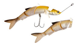 WAKE SOFT JIGWOBBLER - YELLOW CHROME - Vieheet - 2NDC-17522 - 2