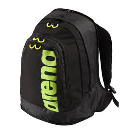Fast Laptop backpack, 32x17x47cm black/ fluo yellow, Arena - Laukut ja reput - 2NDC-153823 - 1