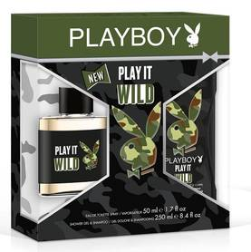 Playboy Play it Wild for men - Lahjapakkaukset - 3614221292563 - 1