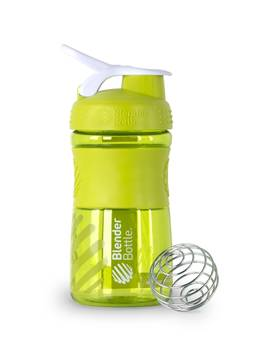 Blender Bottle SportMixer Shakeri  / juomapullo, lime - 590 ml - Juomapullot - 2NDC-84756 - 0