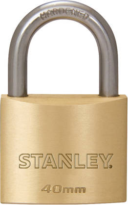 Padlock Solid Brass 40 mm 2-Pack - Lukot - 4008496827817 - 1