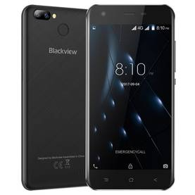 Blackview A7 Pro 5.0'' Android 7.0 -puhelin, Musta - Puhelimet - 2NDC-190208 - 1