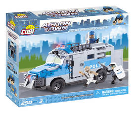 COBI - POLICE ARMOURED VEHICLE 250 + 3 FIG - Rakennuslelut - 2NDC-100678 - 1