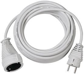 Virtajatkojohdot 5.00 m H05VV-F 3G1.5 IP20 Valkoinen - Sisäjatkojohdot -  4007123022748 - 987b0372f3