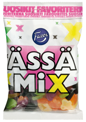 Ässä Mix 180 g - Makeispussit - 664-5111-48 - 1