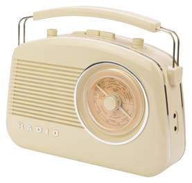 Kannettava Bluetooth Radio FM / AM AUX Beige - Radiot - HAV-TR800BE - 1